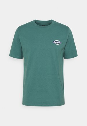RUSTON TEE - Triko s potiskem - lincoln green