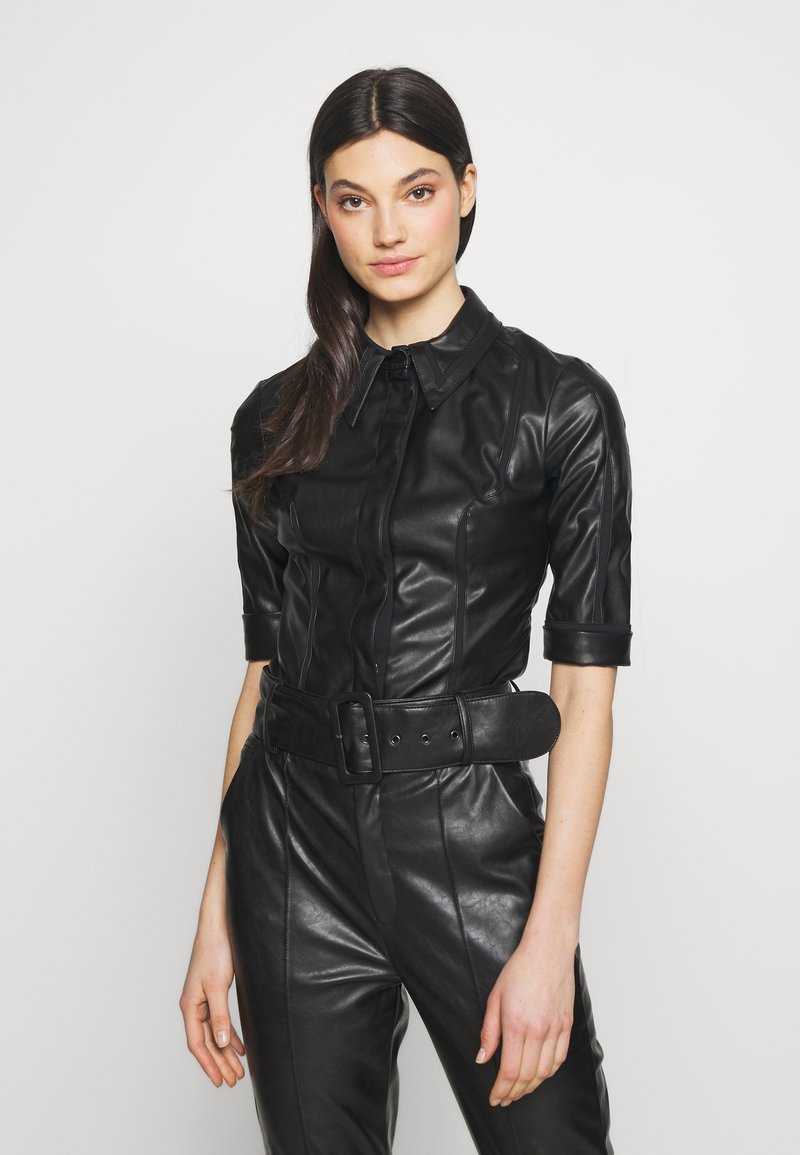 Elisabetta Franchi - Button-down blouse - nero