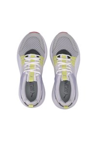 Puma - NUAGE RUN CAGE SUMMER - Sports shoes -  white-purple heather - 2