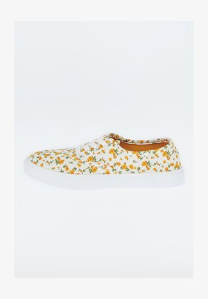 Chaussures à lacets - yellow