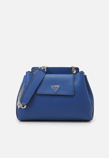 SANDRINE SHOULDER SATCHEL - Across body bag - blue