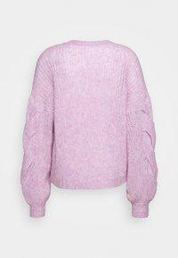 DESIGNERS REMIX - ANTICO CABLE - Sweter - lavender - 1