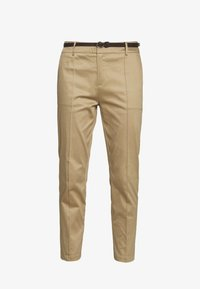 Scotch & Soda - REGULAR FIT WITH STITCHED PLEAT - Chino - sand - 4