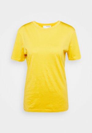 SLFMY PERFECT SS TEE BOX CUT COLOR B - T-shirt basic - citrus