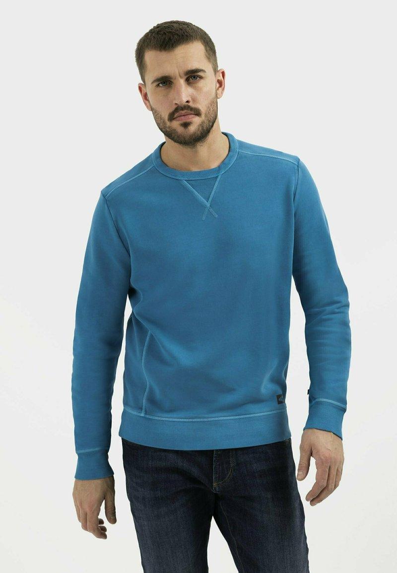 camel active - Sweatshirt - ocean blue