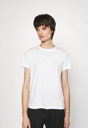 BACKSPIN THINK TWICE - T-shirt con stampa - jet stream