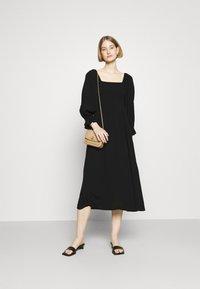 Bruuns Bazaar - LILLI SASANE DRESS - Day dress - black - 1