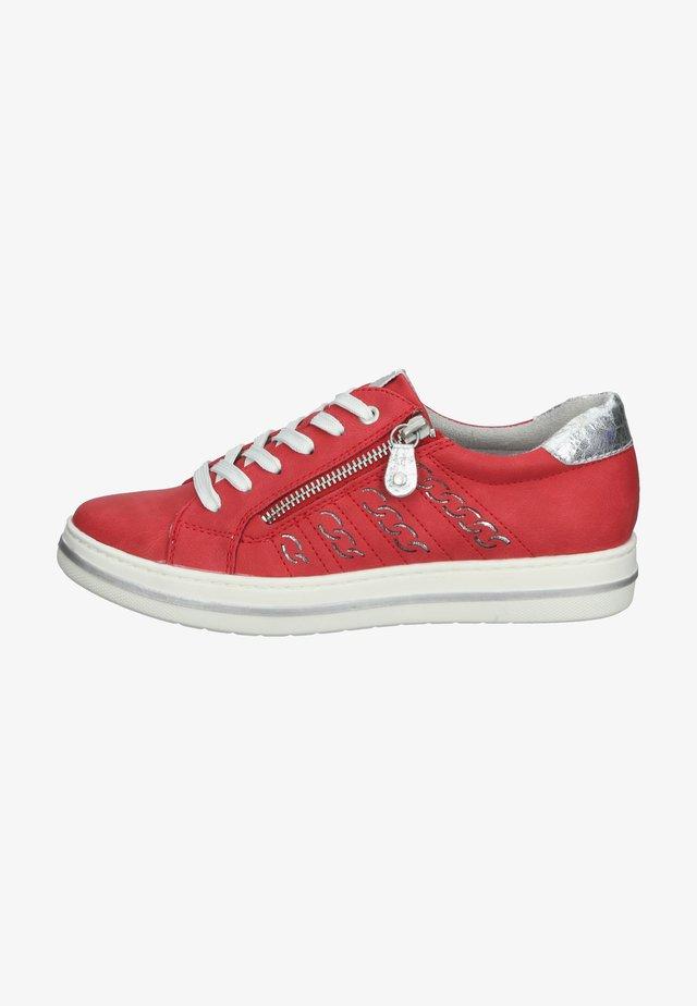 Sneakersy niskie - rouge