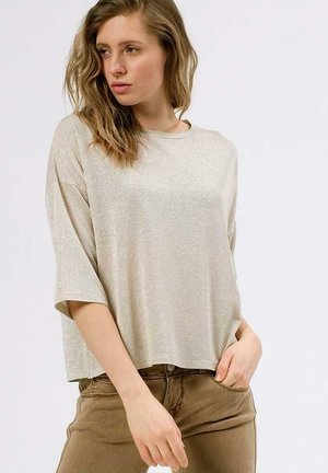 Print T-shirt - feather