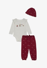 mothercare - BABY DEER SET - Mössa - red - 3