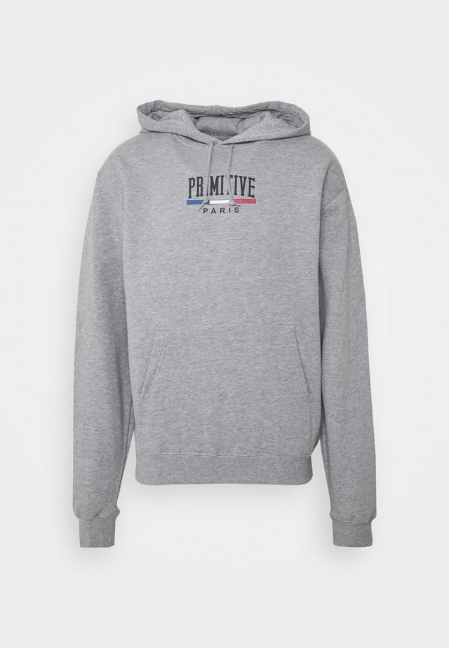 PARIS ARCH HOOD - Sweatshirt - athletic heather
