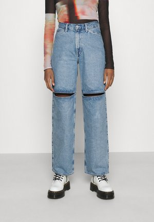 BRAE TROUSERS - Džíny Relaxed Fit - pen blue