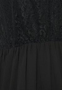 MAMALICIOUS - MLTAYLOR WOVEN MIDI DRESS - Vapaa-ajan mekko - black - 2