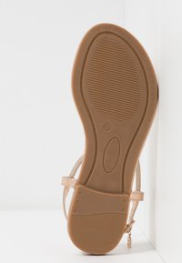 Laura Biagiotti - T-bar sandals - mirror skin - 6