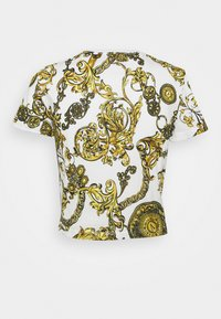 Versace Jeans Couture - Print T-shirt - white/gold - 7