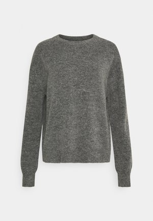 VMPHILINE O NECK - Strikkegenser - medium grey