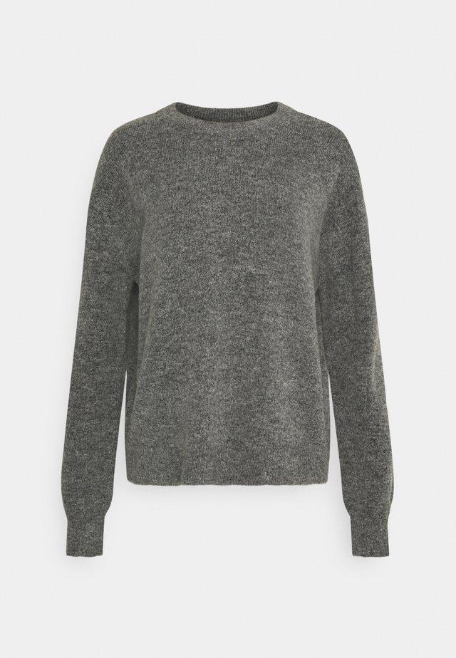 VMPHILINE O NECK - Trui - medium grey