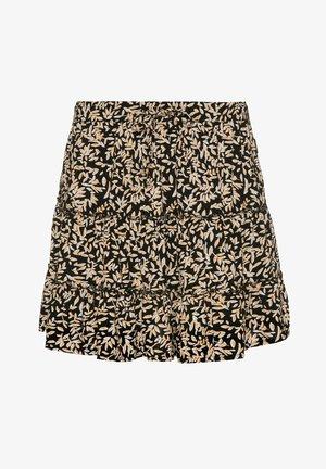A-line skirt - true black