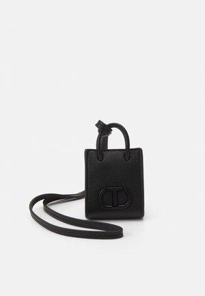 MINI BAG - Taška spříčným popruhem - nero