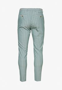 1904 - MOORE PIN STRIPE TROUSER SKINNY - Pantaloni - green - 1