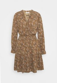 ONLY - ONLLIMA VERA DETAIL DRESS - Day dress - rust - 3