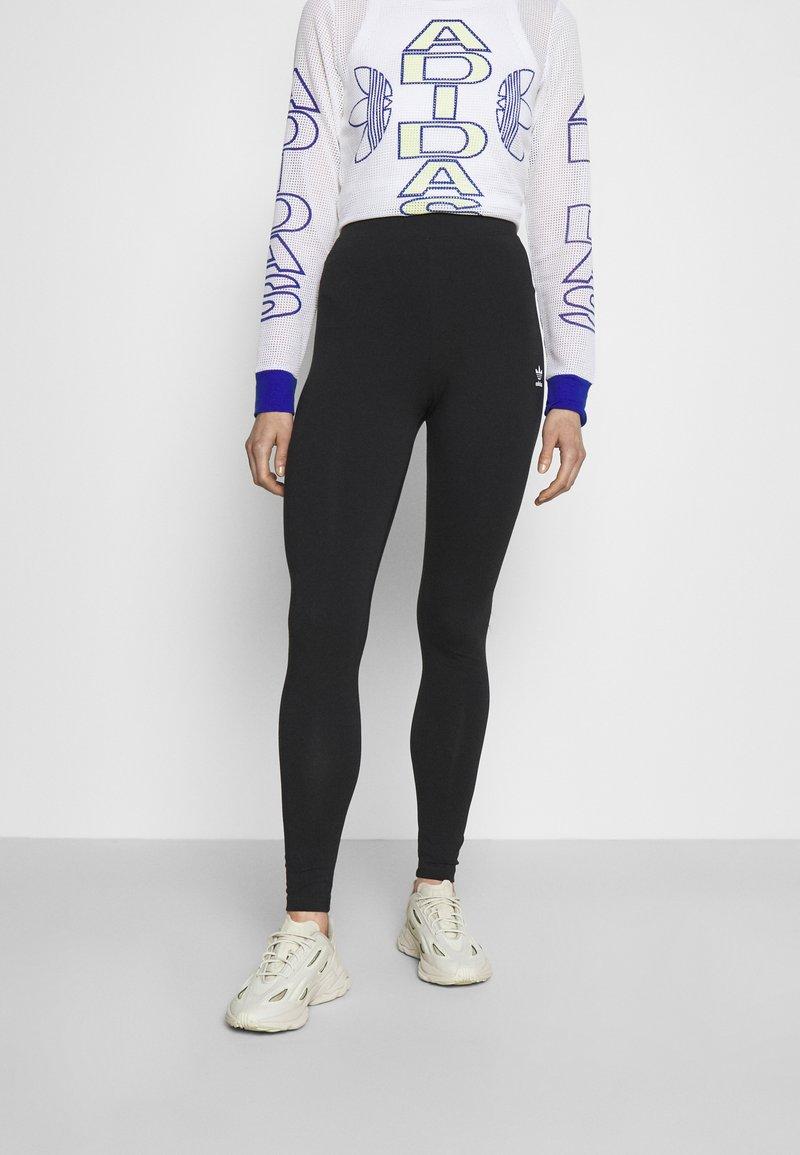 adidas Originals - TIGHT - Leggingsit - black/white