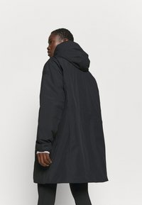 CMP - FIX HOOD - Płaszcz zimowy - nero - 2