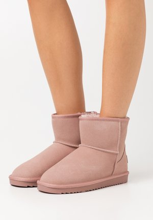 LUNA MID  - Classic ankle boots - nude