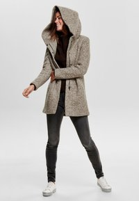 ONLY - ONLSEDONA COAT - Cappotto corto - taupe grey - 1