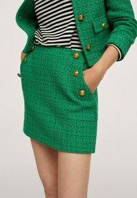 Mango - WINTOUR - A-line skirt - groen - 4