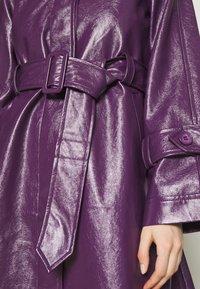 HOSBJERG - CORA TORI SHORT - Klassisk kåpe / frakk - purple - 5