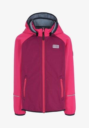 SKY UNISEX - Soft shell jacket - pink