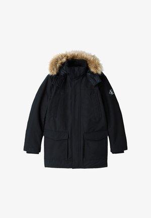 Down coat - ck black