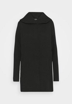 ONLSEDONA LIGHT COAT - Cappotto corto - black