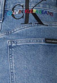 Calvin Klein Jeans - PRIDE SKIRT - Mini skirt - denim medium - 2