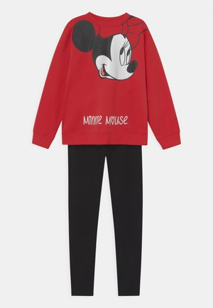 MINNIE SET  - Sweatshirt - ribbon red