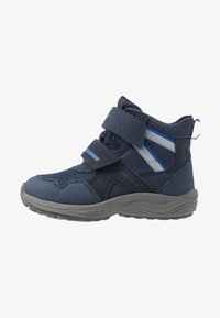 Geox - KURAY BOY - Winter boots - navy/royal - 1