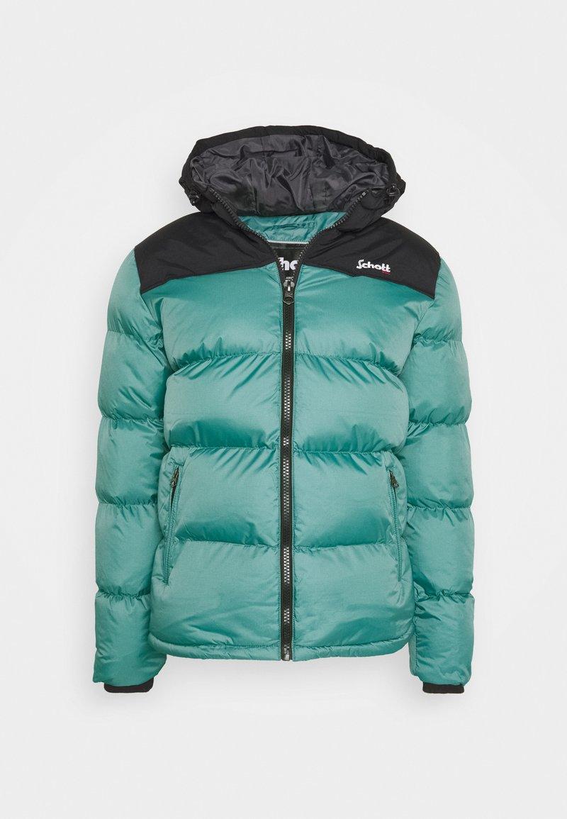 Schott - UTAH2 UNISEX - Winter jacket - lagoon