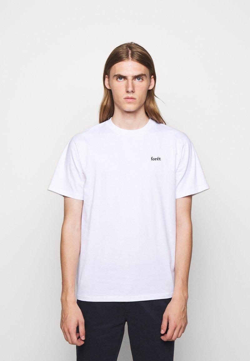 forét - AIR - Jednoduché triko - white