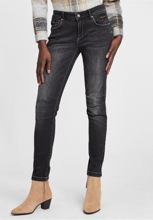 Slim fit jeans - schwarz/schwarz
