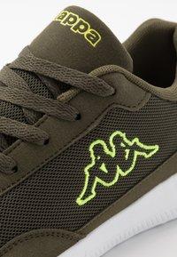Kappa - FOLLOW  - Sports shoes - army/lime - 5