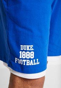 Mitchell & Ness - DUKE BLUE DEVILS SHORT - Sports shorts - royal - 5