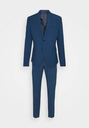 THE FASHION SUIT NOTCH - Oblek - blue
