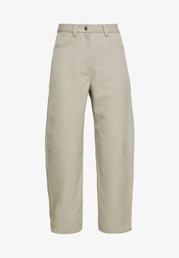 ZOIE TROUSER - Pantalones - light mole