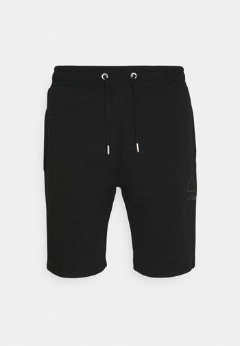 JASTER - Tracksuit bottoms - black