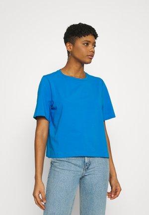 TRISH - Basic T-shirt - blue melange