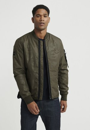 SURPLUS GOODS SHACKETT - Bomber Jacket - khaki