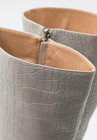 RAID - CELENI - High heeled boots - grey - 5