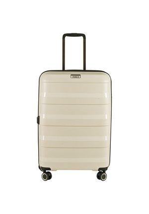 STRAW 4-ROLLEN TROLLEY  - Wheeled suitcase - beige