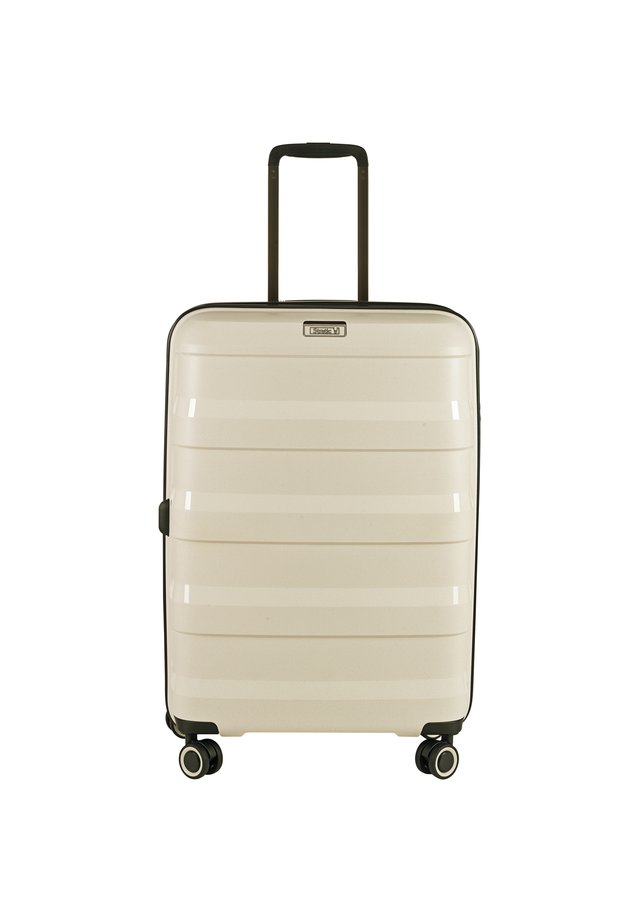 STRAW 4-ROLLEN TROLLEY  - Wheeled suitcase - beige